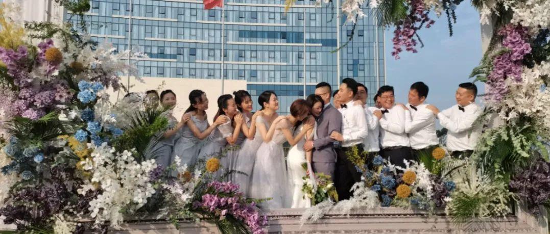 甜到炸!热气球婚礼空降高淳金陵大酒店,圆一个浪漫童话梦!