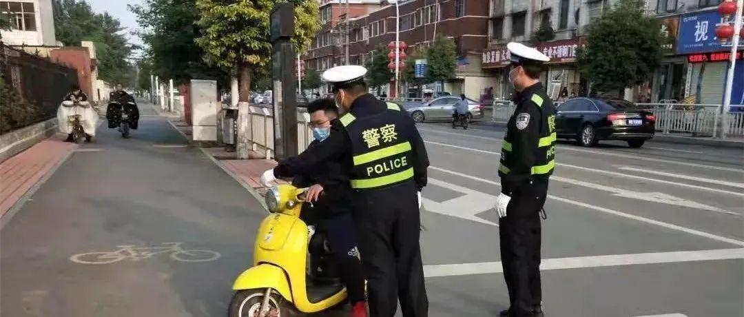长葛交警交通秩序整治进行时Ⅵ,看看都有谁?